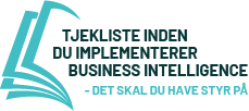 Tjekliste Business Intelligence