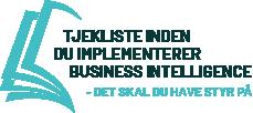 Tjekliste Business Intelligence
