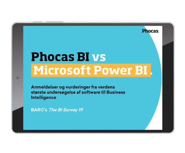 Phocas vs Power BI